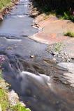 Boscastle stream. Long exposure of boscastle stream Stock Photography