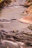 Boscastle stream. Long exposure of boscastle stream Stock Image