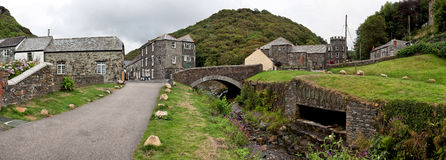 Boscastle, Traditional Cornish village Royalty Free Stock Photography