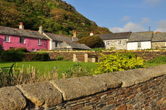 Boscastle village, Cornwall, England, UK. Typical Cornish / english village landscape. Boscastle in North Cornwall, England, Britain Stock Images