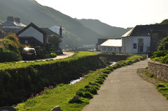 Boscastle village, Cornwall, England, UK Stock Photography