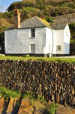 Boscastle village cottage, Cornwall, England, UK Stock Photo