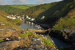 Boscastle village and harbor, Cornwall, England, UK Royalty Free Stock Photos
