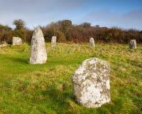 Boscawen-Un Stone Circle Stock Images