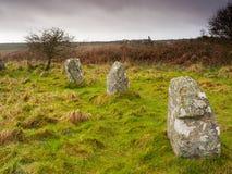 Boscawen-Un Stone Circle Stock Image