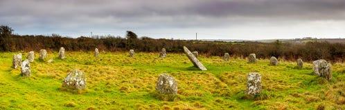 Boscawen-Un Stone Circle Royalty Free Stock Image