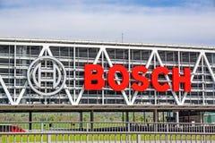 Bosch汽车停车处,斯图加特, A8,德国 免版税图库摄影