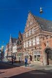 BOSCH DO ANTRO, PAÍSES BAIXOS - 30 DE AGOSTO DE 2016: Casas históricas em Den Bosch, Netherlan foto de stock royalty free