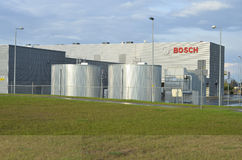 Bosch factory in Wroclaw, Poland Stock Image