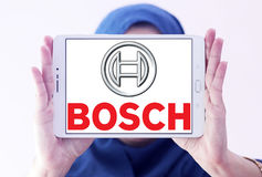 Bosch logo Royalty Free Stock Photo