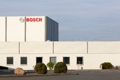 Bosch manufactory i Danmark Arkivbilder