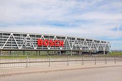 Bosch samochodowy parking, Stuttgart, A8, Niemcy Zdjęcia Royalty Free