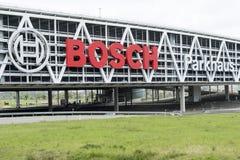 Bosch trademark sign bridge stuttgart Royalty Free Stock Photos