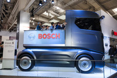 Bosch VisionX begreppslastbil Royaltyfria Bilder
