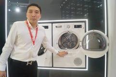 BOSCH-Waschmaschine Stockfotos