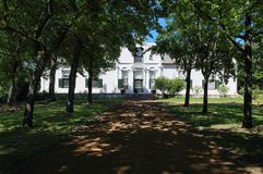 Boschendal Manor house Royalty Free Stock Images