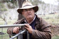 Boscimano australiano Immagini Stock