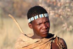 Boscimano del Botswana Fotografie Stock Libere da Diritti