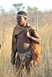 Boscimano del Botswana Immagini Stock Libere da Diritti