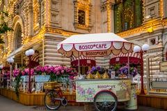 Bosco Cafe im Roten Platz Stockbilder