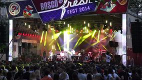 Bosco Fresh Festival stock footage
