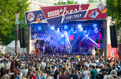 Bosco Fresh Festival Royalty Free Stock Photography
