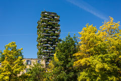 Bosco Verticale buildings in Milan Stock Photography