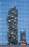 Bosco Verticale Towers nel distretto di Porta Nuova a Milano, AIS Immagine Stock Libera da Diritti