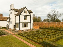 English Country House and Garden Royalty Free Stock Photos