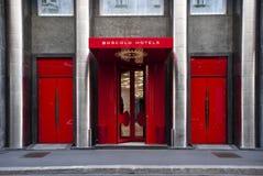 Boscolo Exedra Hotel in Milan. MILAN - NOV 12: 5-stars luxury Boscolo Exedra Hotel in Milan, Nov 12, 2010. With � 203 million of turnover in 2009, the Boscolo Stock Images