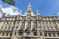 Boscolo Hotel facade in Budapest, Hungary. Royalty Free Stock Image