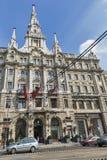 Boscolo Hotel facade in Budapest, Hungary. Royalty Free Stock Photos