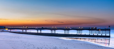 Boscombe Pier sunrise Stock Photography