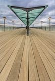 Boscombe Pier Stock Photo