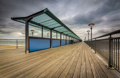 Boscombe Pier Royalty Free Stock Photo