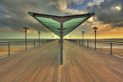 Boscombe Pier Royalty Free Stock Images