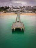 Boscombe Pier royalty free stock photos