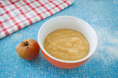 Boscop apple and mousse Stock Image