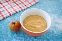 Boscop mousse i jabłko Obraz Stock