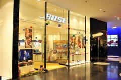 Bose音频存储在法兰克福 免版税库存照片