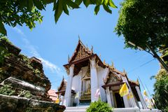 Free Bose At Na Phra Meru Temple, Ayutthaya, Thailand Stock Photos - 164043993