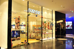 Bose audio store in Frankfurt Royalty Free Stock Photos