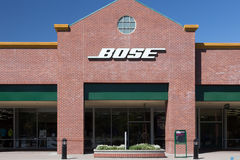 Bose Store Exterior Royalty Free Stock Photography