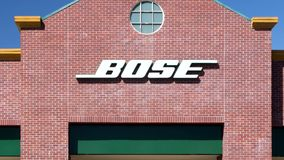Bose Store Exterior stock footage