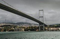 Bosfor. The bridge between Europa and Asia Stock Photos
