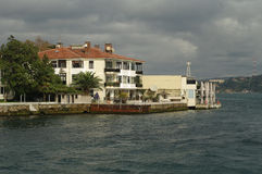 Bosfor. A house at the wharf of Bosfor Stock Photo