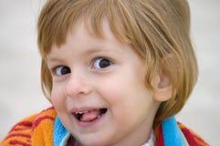 Boshaftes Kind lizenzfreies stockfoto