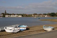 Bosham all'alta marea. Sussex. Il Regno Unito Fotografie Stock