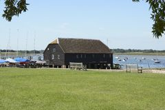 Bosham Quay. Sussex. England Royalty Free Stock Images