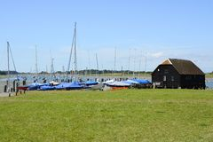Bosham Quay. Sussex. England Royalty Free Stock Photo